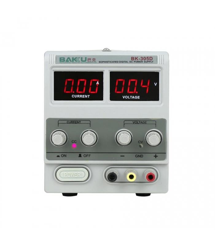 منبع تغذیه 30 ولت و 5 آمپر باکو BAKU BK-305D