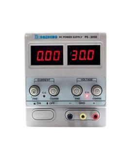 منبع تغذیه 30 ولت و 5 آمپر داژنگ DAZHENG PS-305D