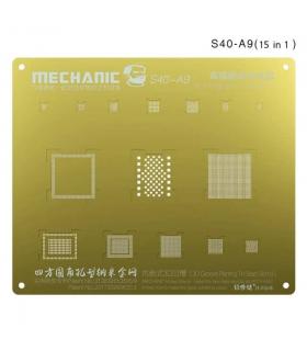 شابلون سه بعدی طلایی آیفون مکانیک MECHANIC S40-A9