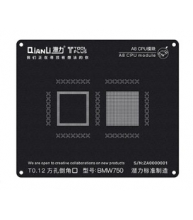 شابلون سی پی یو آیفون QiAnLi iBlack 3D A8 CPU BMW750