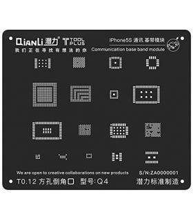شابلون بیس باند آیفون QiAnLi Base Band IPhone5S Q4