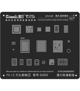 شابلون بیس باند آیفون QiAnLi Base Band IPhone8 S450