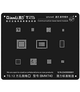 شابلون آیفون QiAnLi IBlack 3D IPhone6 BMW740