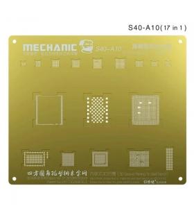 شابلون سه بعدی طلایی آیفون مکانیک MECHANIC S40-A10