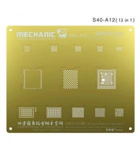 شابلون سه بعدی طلایی آیفون مکانیک MECHANIC S40-A12