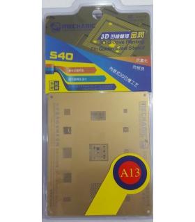 شابلون سه بعدی طلایی آیفون مکانیک MECHANIC S40-A13