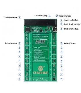 کیت شارژر باتری اندروید Sunshine SS-910