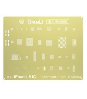 شابلون 3D  آیفون 8 برند Qianli