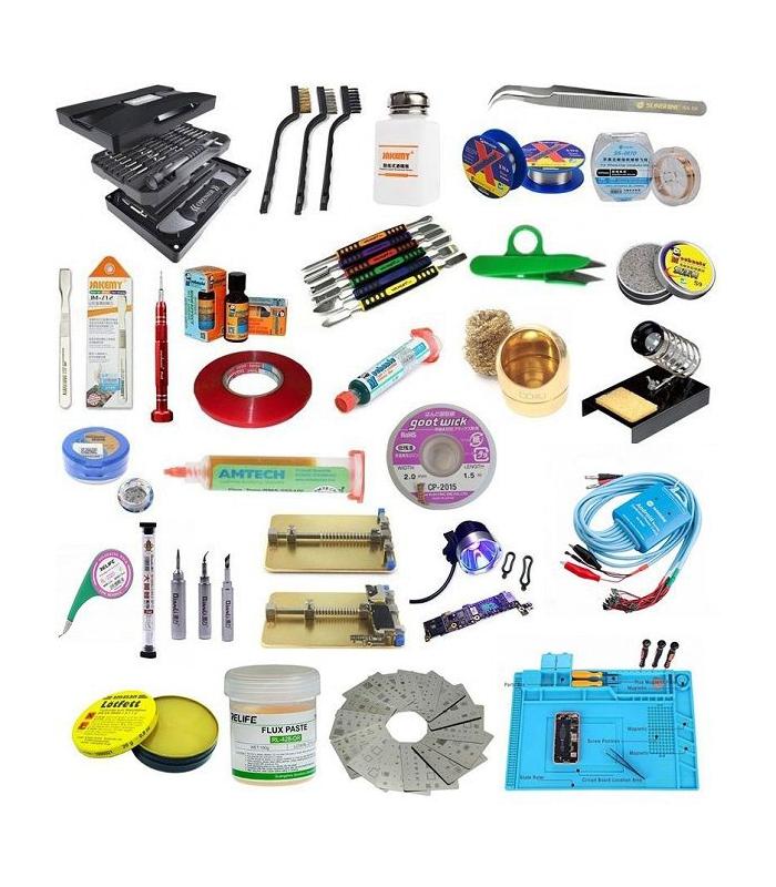 ست ابزار مصرفی تعمیرات موبایل