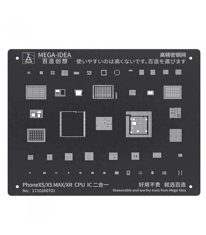 شابلون آیفون مگا آیدیا MEGA-IDEA XS/XS MAX/XR CPU IC