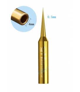 نوک هویه سر صاف طلایی مکانیک MECHANIC 900M-T-FI