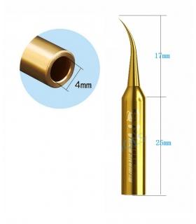 نوک هویه سرکج طلایی مکانیک MECHANIC 900M-T-FS