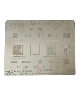 شابلون تعویض آی سی آیفون مکانیک mechanic s24 iphone8 ,8plus