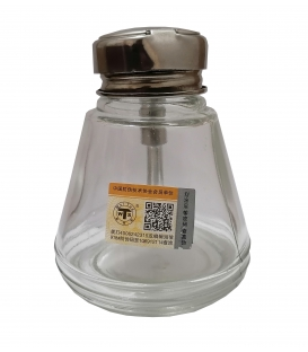 بطری تینر شیشه ای