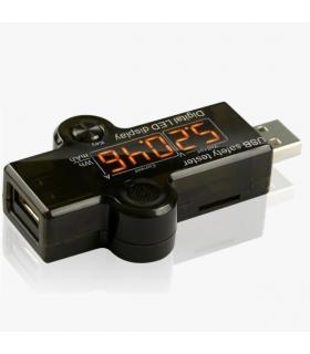تست کننده ولتاژ خروجی شارژر و usb مدل USB Safety Tester Juwei