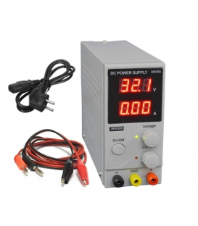 منبع تغذیه 30 ولت و 5 آمپر اورجینال Longwei Electric مدل LW-K305D