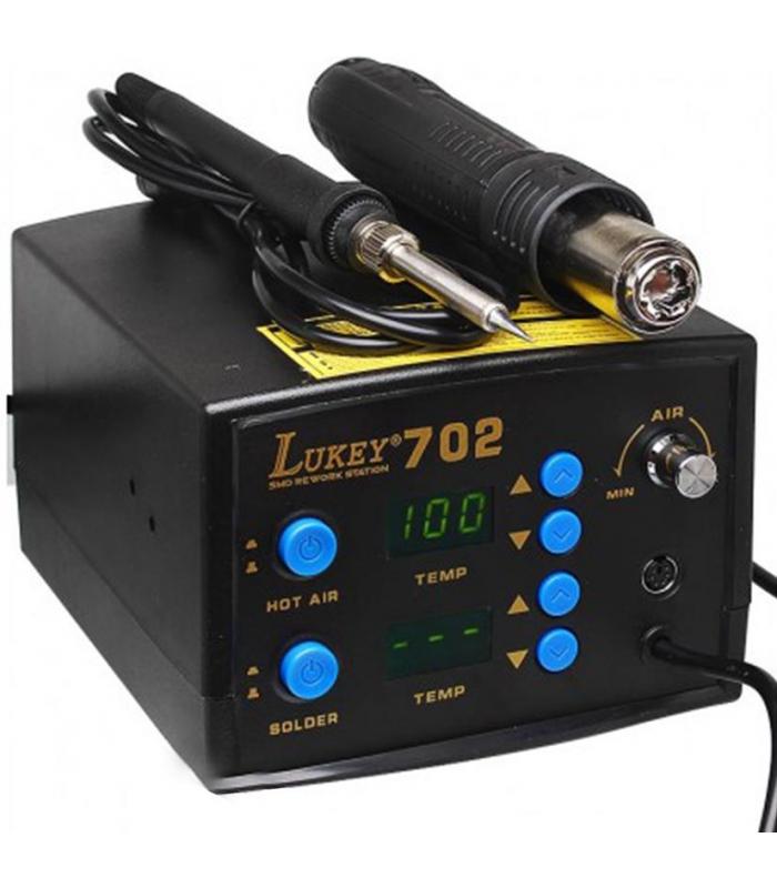 هیتر و هویه دیجیتال تعمیرات موبایل لاکی مدل Lukey 702