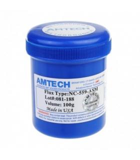 خمیر فلکس کاسه ای 100 گرمی آمریکایی امتک مدل AMTECH NC-559-ASM-UV