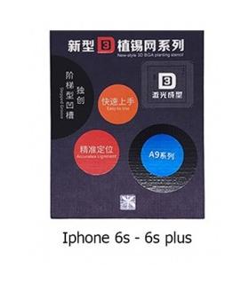 شابلون ریبال 3D تعمیرات موبایل مخصوص گوشی های آیفون Iphone 6S , 6S Plus