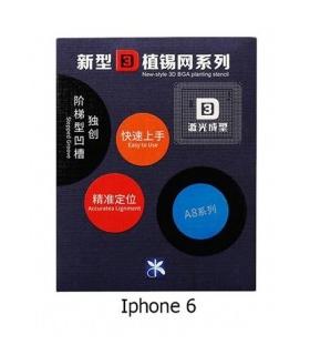 شابلون ریبال 3D تعمیرات موبایل مخصوص گوشی های آیفون Iphone 6