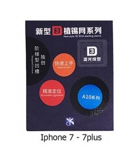 شابلون 3D آیفون Iphone 7 , 7Plus