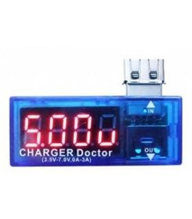 تستر خروجی ولتاژ و آمپر شارژر گوشی Charger Doctor
