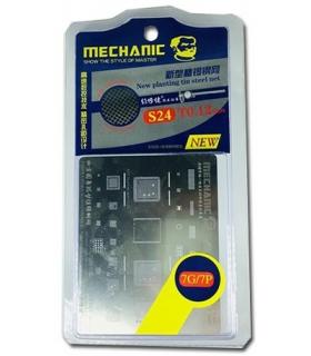 شابلون تعویض آی سی آیفون مکانیک mechanic s24 iphone7 ,7plus