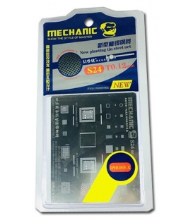 شابلون تعویض آی سی آیفون مکانیک Mechanic S24 Iphone X
