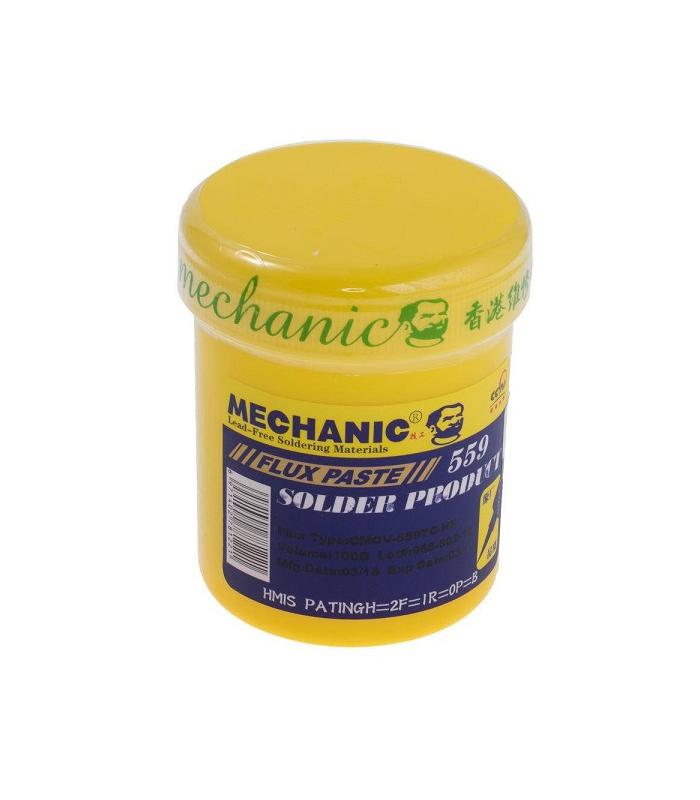 خمیر فلکس کاسه ای 100 گرمی مکانیک MECHANIC 559
