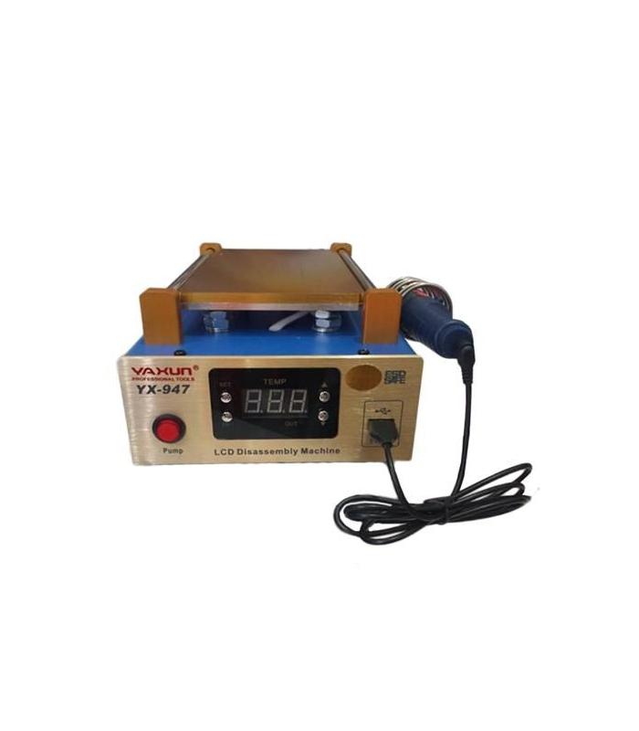دستگاه سپراتور و تاچ بردار 7 اینچی و ریموور چسب OCA یاکسون مدل YAXUN YX-947