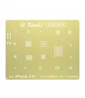 شابلون 3D  آیفون 6 برند Qianli