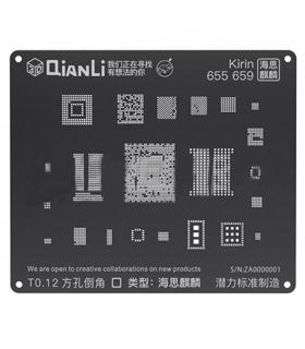 شابلون 3D اندروید Kirin 655 659 مدل Qianli