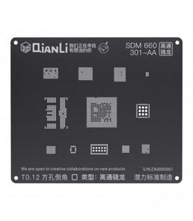 شابلون 3D اندروید MSM 660  مدل Qianli