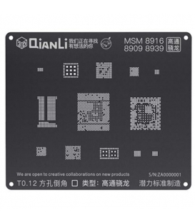 شابلون 3D اندروید MSM 8916 مدل Qianli