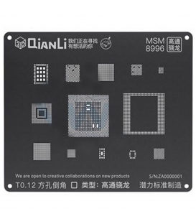 شابلون 3D اندروید MSM 8996 مدل Qianli