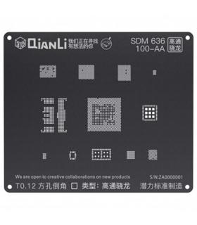 شابلون 3D اندروید SDM 636 مدل Qianli