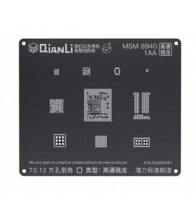 شابلون 3D اندروید MSM 8940 مدل Qianli