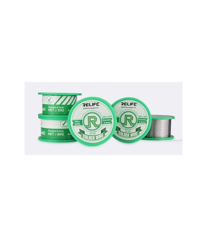 سیم قلع 35 گرمی ریلایف مدل Relife RL-441