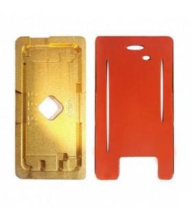 شابلون فلزی و پد سیکونی تعویض گلس آیفون مدل Iphone 5,5s,5c