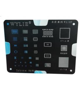 شابلون آیفون وایلی Wylie WL-07